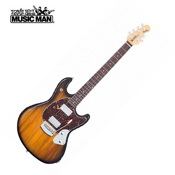 MUSICMAN(ミュージックマン) / StingRay Guitar Vintage Tobacco Burst (Shell 3ply Pickguard) 【ハードケース付属】 - エレキギター - ■限定セット内容■→ 【・ア-ニ-ボ-ル エレキ弦 】