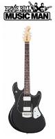 MUSICMAN(ミュージックマン) / StingRay Guitar Black (Black 3ply Pickguard)  【ハードケース付属】 - エレキギター - ■限定セット内容■→ 【・ア-ニ-ボ-ル エレキ弦 】