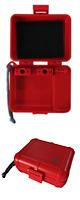 Black Box Cartridge Case (Red) 【Shure / Ortofon 等の主要メーカーカートリッジに対応】 カートリッジケース
