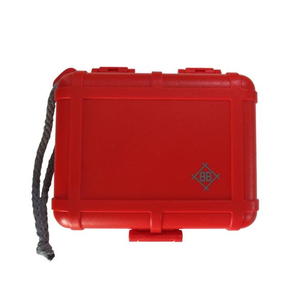 Black Box Cartridge Case (Red) 【Shure / Ortofon 等の主要メーカーカートリッジに対応】 - カートリッジケース -