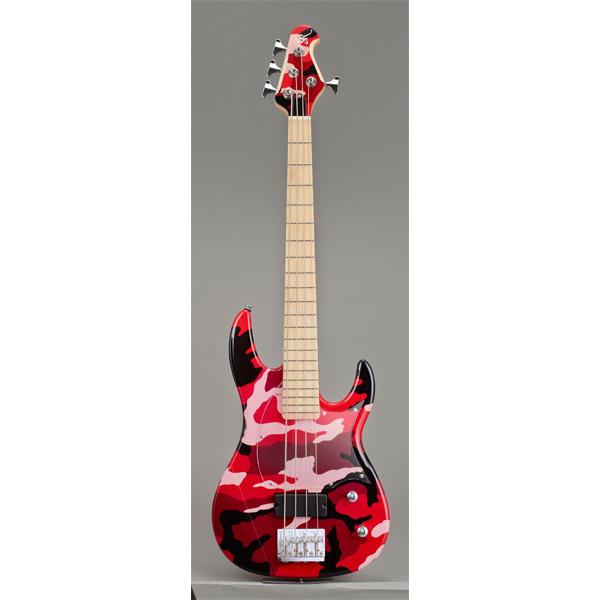 ESP(イーエスピー) / GR GR-LW-II ( Red Camo ) 【GR Artist Series IKUO Mini Model 】 【2017年3月31日までの期間限定生産品】 - ミニエレキベース -