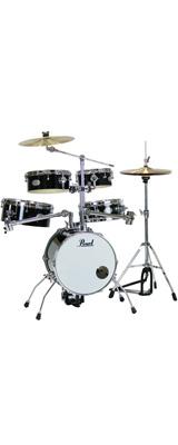 Pearl(パール) / Rhythm Traveler Version 3S 【RT-645N/C Jet Black(ジェットブラック)】 リズムトラベラー-コンパクト ドラムセット - 1大特典セット