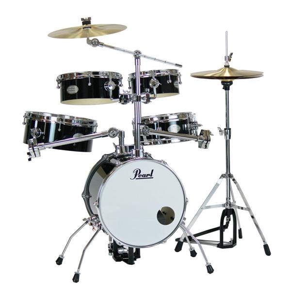 Pearl(パール) / Rhythm Traveler Version 3S 【RT-645N/C Jet Black(ジェットブラック)】 リズムトラベラー-コンパクト ドラムセット -