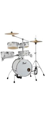Pearl(パール) / Rhythm Traveler Version 3S 【RT-645N/C _Pure White(ピュアホワイト)】 リズムトラベラー- コンパクト ドラムセット - 1大特典セット