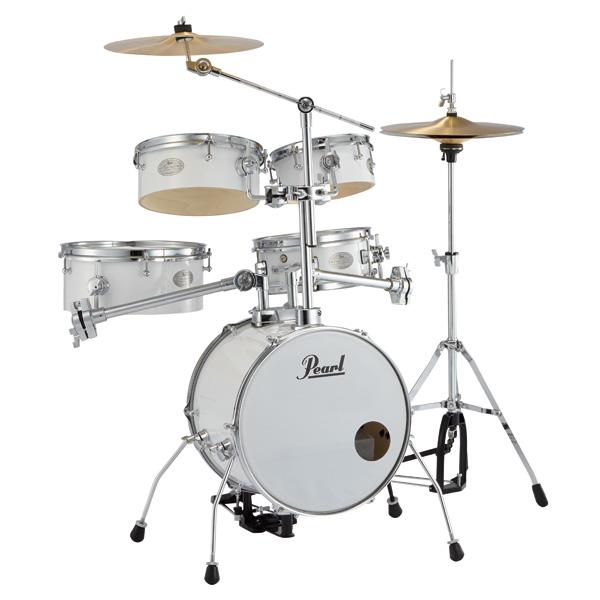 Pearl(パール) / Rhythm Traveler Version 3S 【RT-645N/C _Pure White(ピュアホワイト)】 リズムトラベラー- コンパクト ドラムセット -