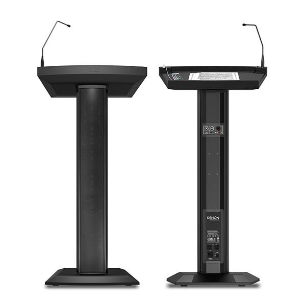 【演説台】Denon(デノン) / LECTERN ACTIVE (DP-SPK-002) - スピーカー & マイク一体化 演説台型スピーカー - 4大特典セット