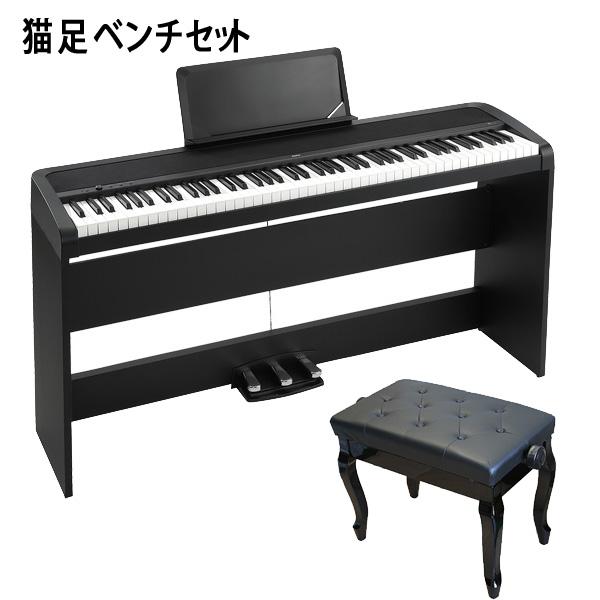 Korg(コルグ) / B1SP-BK 【猫足ベンチセット】