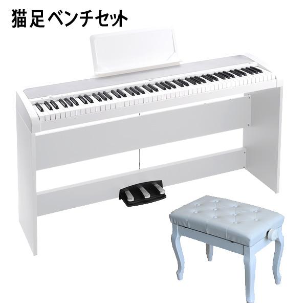 Korg(コルグ) / B1SP-WH 【猫足ベンチセット】