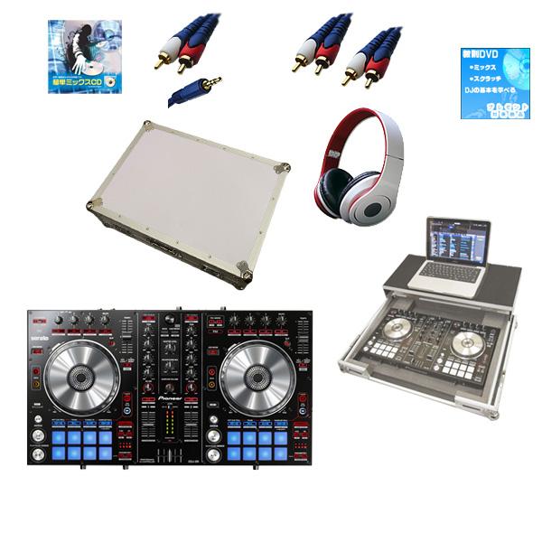 【新生活応援セット】Pioneer(パイオニア) / DDJ-SR  フライトケース(ホワイト)激安定番モバイルAセット 『セール』『DJ機材』