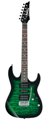 Ibanez(アイバニーズ) / GRX70QA-TEB [GIO:Ibanez] - エレキギター - 1大特典セット
