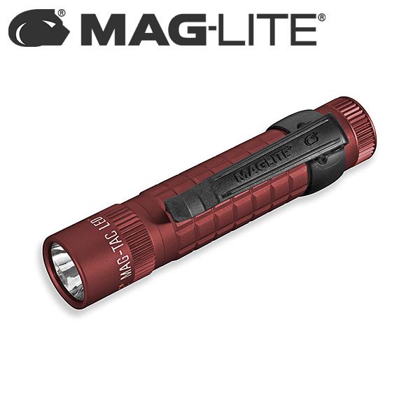Mag-Lite(マグライト) / MAG-TAC LED プレーンベゼル (Crimson Red) - ハンディーライト -