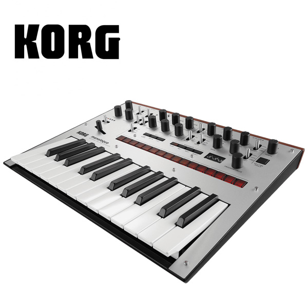 Korg(コルグ) / monologue-SV (Silver シルバー)- モノフォニック・アナログ・シンセサイザー -