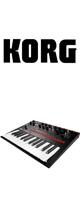 Korg(コルグ) / monologue-BK (Black ブラック)- モノフォニック・アナログ・シンセサイザー -