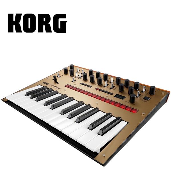 Korg(コルグ) / monologue-GD (Gold ゴールド)- モノフォニック・アナログ・シンセサイザー -