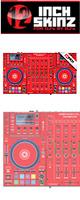 12inch SKINZ / DENON MCX8000 SKINZ (RED) - 【MCX8000用スキン】