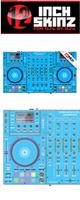 12inch SKINZ / DENON MCX8000 SKINZ (Lite Blue) - 【MCX8000用スキン】