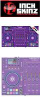 12inch SKINZ / DENON MCX8000 SKINZ (PURPLE) - 【MCX8000用スキン】