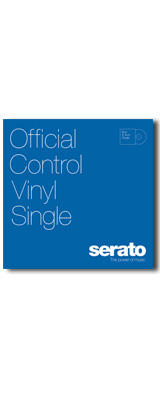 "12"" Serato Performance Series Control Vinyl Single [BLUE] [LP]【セラートコントロールトーン収録 SERATO SCRATCH LIVE, SERATO DJ】"