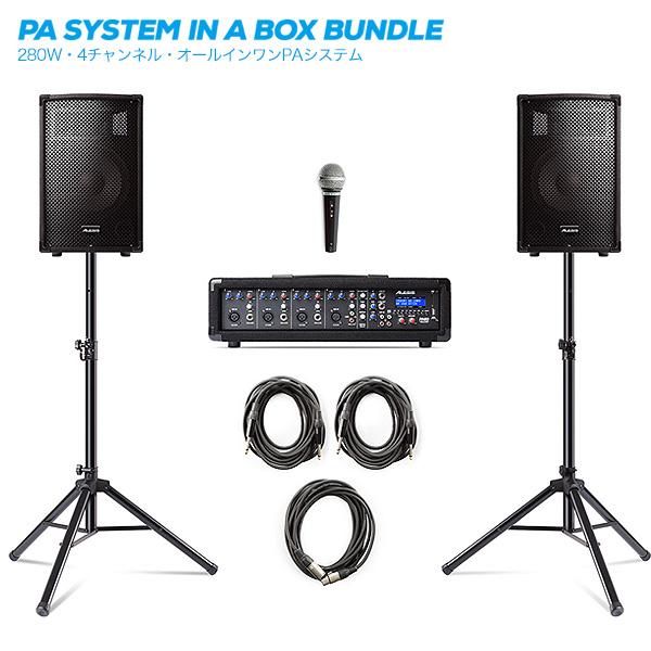 【タイムセール限定1台】Alesis(アレシス) / PA SYSTEM IN A BOX BUNDLE 【AL-SRI-011】 - オールインワンPAセット -の商品レビュー評価はこちら