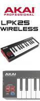 Akai(アカイ) / LPK25 Wireless - MIDIキーボード - 1大特典セット