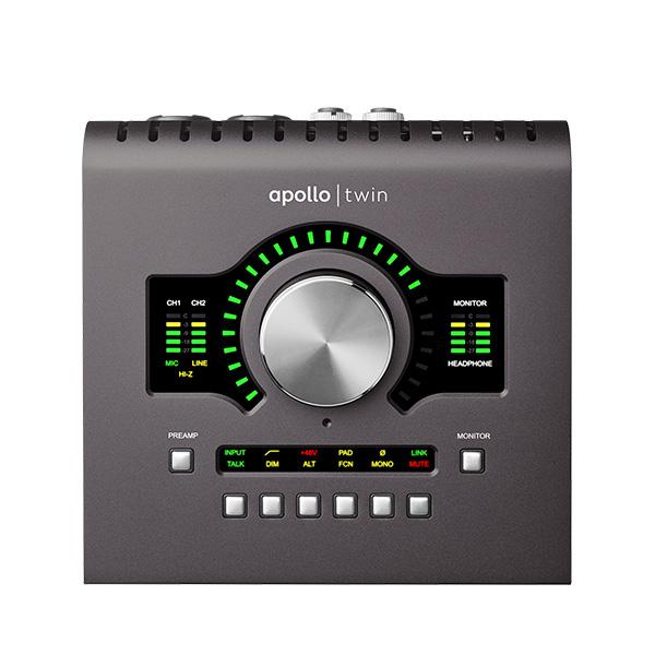 Universal Audio(ユニバーサルオーディオ) / APOLLO TWIN MKII SOLO オーディオインターフェイス