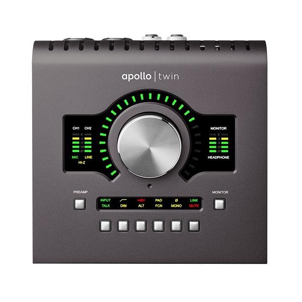 Universal Audio(ユニバーサルオーディオ) / APOLLO TWIN MKII DUO オーディオインターフェイス