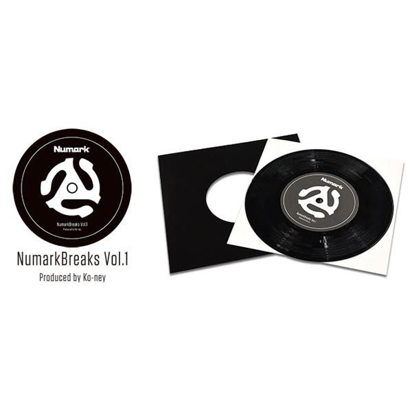 ■ご予約受付■ Numark(ヌマーク) /  Numark Break Vol.1- 7インチバトルブレイクス -【次回未定】