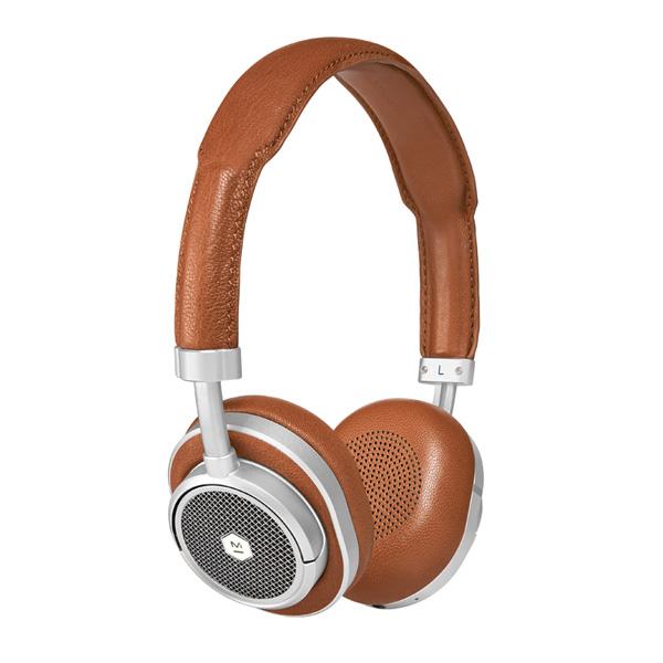 MASTER & DYNAMIC(マスターアンドダイナミック) / MW50 (SILVER/BROWN) - Bluetooth対応 ワイヤレスヘッドホン -