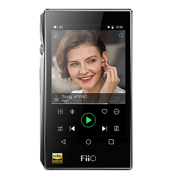 Fiio(フィーオ) / X5 3rd Gen (Titanium) - ハイレゾ対応 デジタルオーディオプレイヤー(DAP) - [Serial removed]【レザーケース/クリアケース付属】 1大特典セット