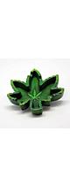 Hemp Leaf Ashtray - ヘンプデザインの灰皿 -