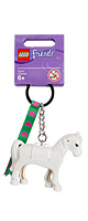 LEGO(レゴ) / Friends Key Chain (White Horse) #851578 - キーホルダー / 馬 ポニー -
