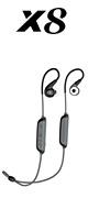 MEE audio(ミーオーディオ) / X8 (BLACK) - Bluetooth対応 スポーツ用 ワイヤレスイヤホン -