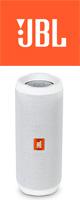 JBL(ジェービーエル) / FLIP4 (ホワイト) - 防水Bluetoothワイヤレススピーカー 1大特典セット