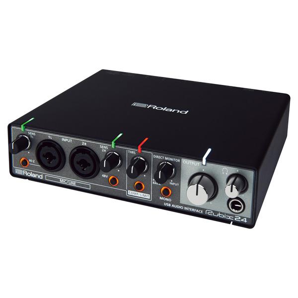 Roland(ローランド) / Rubix24 - 24bit/192kHz対応 USBオーディオ・インターフェース - 【7月28日(金)発売】