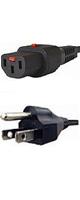 APW12-5-15/C13LK-01 - 抜け防止ロック電源ケーブル 1m -