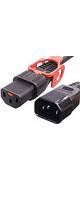 APW15-C14/C13LP-03 - 抜け防止ロック電源ケーブル(ロックプラス) 3m -