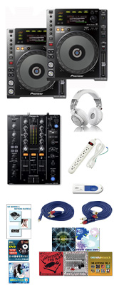 CDJ-850-K/ DJM-450 激安ハイアマオススメBセット 12大特典セット