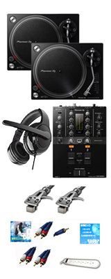 PLX-500-K /  DJM-250mk2 オススメBセット  9大特典セット