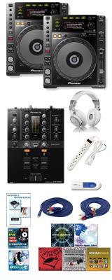 CDJ-850-K/ DJM-250mk2 激安ハイアマオススメBセット 12大特典セット