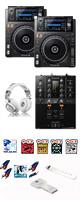 XDJ-1000MK2 / DJM-250mk2 激安ハイアマオススメBセット 大特典セット