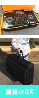 Euro Style(ユーロスタイル) / Pioneer(パイオニア) / XDJ-RX 用 PCDJコントローラケース  リュックストラップ付き 3Way仕様 撥水生地・防水ファスナー仕様・米軍スペック生地 ■限定特別価格■