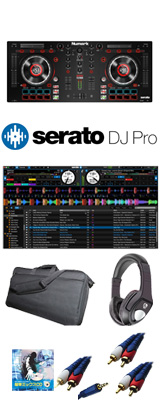 Numark(ヌマーク) / MixTrack Platinum / Serato DJ Pro / 収納ケース セット 【Serato フェア】 6大特典セット