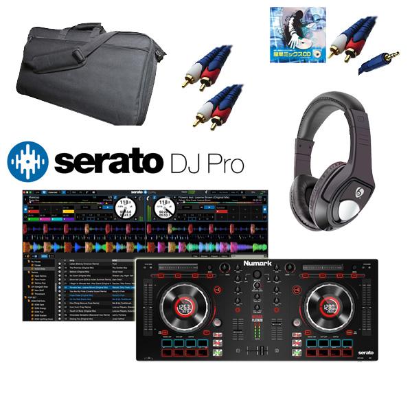 Numark(ヌマーク) / MixTrack Platinum / Serato DJ / 収納ケースセット 【Serato フェア】