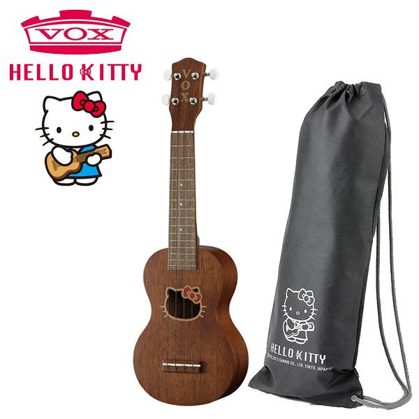 【限定1台】VOX(ヴォックス) / HELLO KITTY UKULELE (VU-22HK-MH) 【ロゴ入りバッグ付属】 - 日本製 ハローキティーコラボレーション ソプラノサイズウクレレ - 『開封特価品』