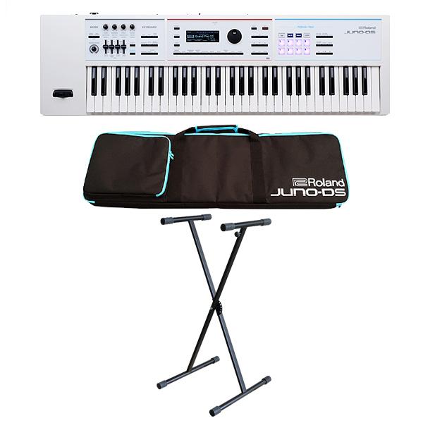 【シンプルセット】Roland(ローランド) / JUNO-DS61W (ホワイト) - 61鍵 シンセサイザー
