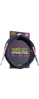 ERNIE BALL(アーニーボール)/6048 10' STRAIGHT/STRAIGHT INSTRUMENT CABLE - BLACK ギター用シールドコード