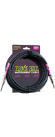 ERNIE BALL(アーニーボール)/6046 20' STRAIGHT/STRAIGHT INSTRUMENT CABLE - BLACK/エレキギター用ケーブル