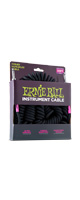 ERNIE BALL(アーニーボール)/6044 30' COILED STRAIGHT/STRAIGHT INSTRUMENT CABLE - BLACK/エレキギター用ケーブル