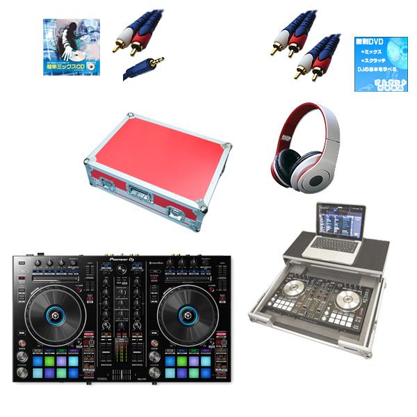 【新生活応援セット】Pioneer(パイオニア) / DDJ-RR  フライトケース(レッド)激安定番モバイルAセット 『セール』『DJ機材』