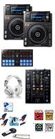 XDJ-1000MK2 / DJM-450 / DDJ-SP1激安ハイアマオススメBセット 14大特典セット